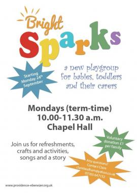Bright Sparks Toddler Group